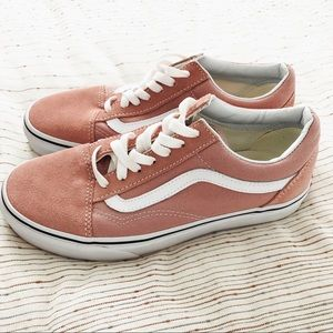 Mahogany Rose/True White Old Skool Vans Shoes